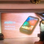Motorola unveiled Moto E in India and will be available at Flipkart