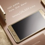Samsung Announces Metal Smartphone – the Galaxy Alpha